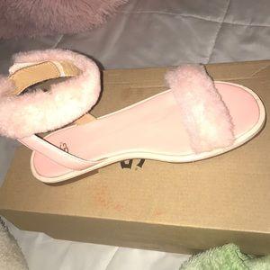 UGG Fuzzy Sandals